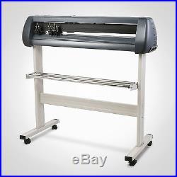 Vinyl Cutter 34'' Design Cut Software Plotter 870 mm Cutting Artcut Machine NEW