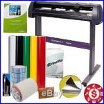 Vinyl Cutter Decal Making Kit 34 Sign Cutting Machine Professional Cut Software