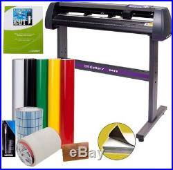 Vinyl Cutter Decal Making Kit 34in Sign Cutting Machine Design And Cut Software