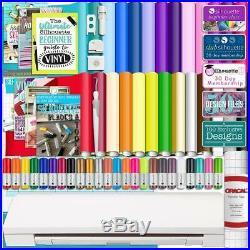 Vinyl Cutter Machine Software Cutting Tool Guide Sketch Pens Sticker Paper Books