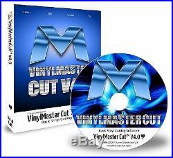 Vinyl Cutter Machine Software Sign Plotter Great Starter Package VinylMaster CUT