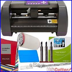 Vinyl Cutter Plotter 14 USCutter Sign Making Maker Craft Design Software Blade
