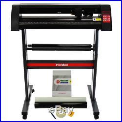 Vinyl Cutter Plotter 720mm PixMax Cutting FlexiStarter Software & Weeding Kit