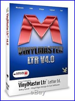 Vinyl Cutter Plotter Arc Text Vectorize Craft Sign Software VinylMaster LTR 2019