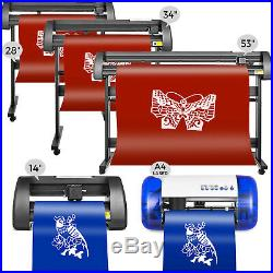 Vinyl Cutter Plotter Cutting 14/28/34/53 inch Software Drawing Tools Sign Maker