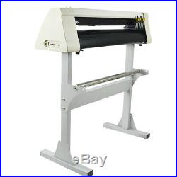 Vinyl Cutter Plotter Cutting 24 Sign Sticker Making Print Software 3 Blades Usb