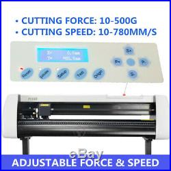 Vinyl Cutter Plotter Cutting 28 Sign Maker Usb Port LCD Display with Software