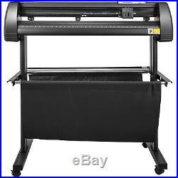 Vinyl Cutter Plotter Cutting 28 Sign Sticker Making Print Software 3 Blades Usb
