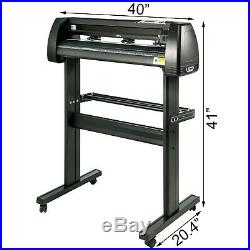 Vinyl Cutter Plotter Cutting 34 Sign Maker Package Deal With 3 Blades Usb Port