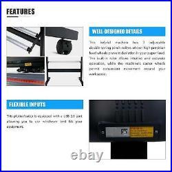 Vinyl Cutter Plotter Cutting 34' Sign Maker Software Bundle Craft Cut Art Craft