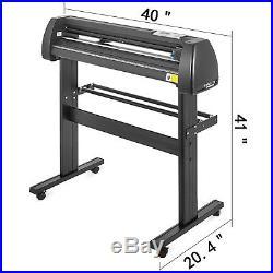 Vinyl Cutter Plotter Cutting 34 Sign Maker Stepper motor Artcut Software Design