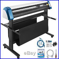 Vinyl Cutter Plotter Cutting 53 Sign Sticker Making Print Software 3 Blades Usb