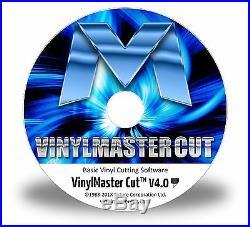 Vinyl Cutter Software for Plotter Die Decal Sicker ARMS Machines VinylMaster CUT