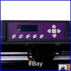 Vinyl Cutter USCutter MH 34in BUNDLE Sign Making Kit withDesign & Cut Softwar