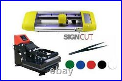 Vinyl Cutter and Heat Press T-Shirt and Signmaking Beginner Starter package