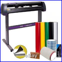 Vinyl Cutter w Software Bundle Sign Cutting Machine Maker Cut Graphic Art Kit