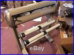 Vinyl Express Lynx Vinyl Cutter Plotter S-60 withStand Software, Dongle, Vinyl