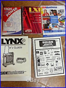 Vinyl Express Lynx Vinyl Cutter/Plotter + Software and Fonts