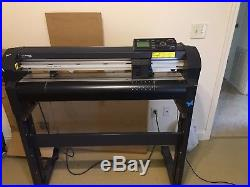 Vinyl Express Q24 Vinyl Cutter and Stand, Lxi Software, Transfer Tapes, Vinyl