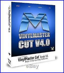 VinylMaster Cut V4 +Disc 2015 Basic Sign Design Software Vinyl Cutters Plotters