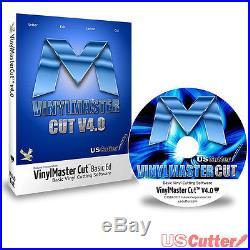 VinylMaster Cut Vinyl Cutter Sign Making Design & Cut Software USCutter
