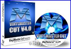 VinylMaster Cut Vinyl Cutter Software Full Version With CD