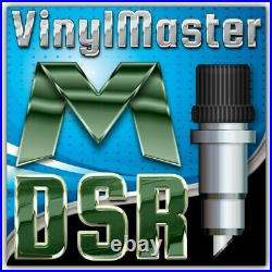 VinylMaster DSR Designer Vinyl Cutter Graphic Design/Print Software V4.3 (PC)