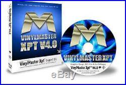 VinylMaster Expert Xpt VMX Vinyl Cutter Software Full Version with CD