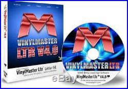 VinylMaster Letter Ltr VML Vinyl Cutter Software Full Version with CD