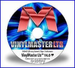 VinylMaster Ltr V4 2016 Best Value Vinyl Cutter Plotter Software for Cutting
