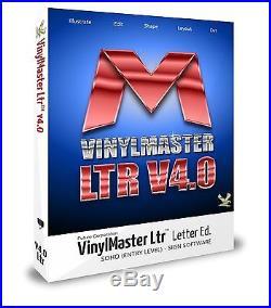 VinylMaster Ltr for Vinyl Cutter Design Software Sign Cutting Equipment Contour