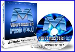 VinylMaster Pro VMP Vinyl Cutter Software Crossgrade with CD