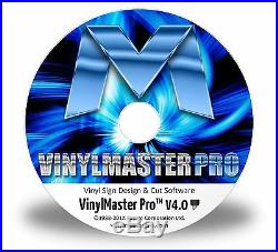 VinylMaster Pro for 24 28 36 Vinyl Cutting Plotter Software for Sign Cutters