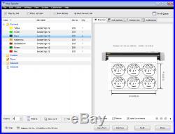 VinylMaster Software Sign Cutting Plotter Vinyl Cutter (Logo Decal Cut) CARD+PSN
