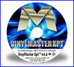 VinylMaster Xpt Best Value Sign Expert Quality Vinyl Cutter Plotter RIP Software