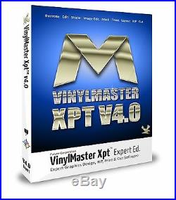 VinylMaster Xpt for Vinyl Cutter/Sign Cutting Plotter WithContour Cut Software