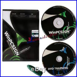 WinPCSign 2009 Basic Software for Cutting plotter Vinyl Cutter Easy To Operate
