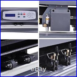Yescom 28 Vinyl Cutter Sign Sticker Cutting Plotter Machine + Basic Software